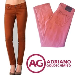 ADRIANO GOLDSCHMIED   Mid rise straight slim jeans